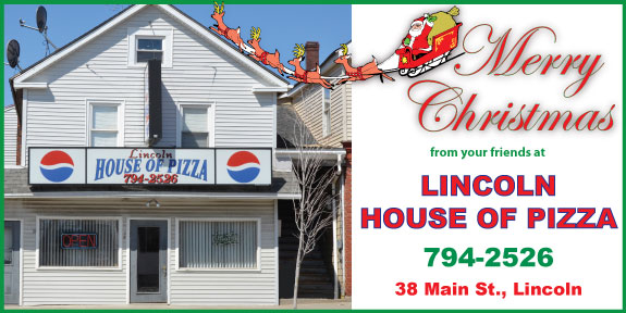 Lincoln House of Pizza Christmas